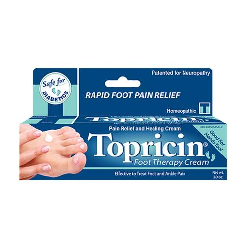 Topricin Foot Therapy Cream 2oz Tube