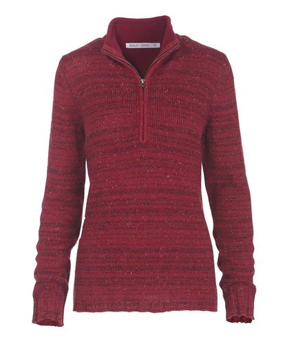 Woolrich Women's Tanglewood 3-Quarter Zip Sweater