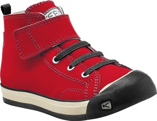 Keen Kid's Coronado High Top Sneaker Ribbon Red