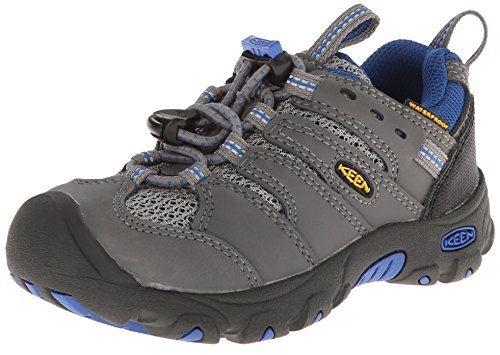 Keen Kid's Koven Low Waterproof Hiking Shoe Gargoyle