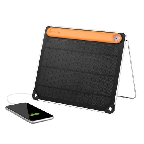 BioLite Solar Panel 5 with Battery and Sundial