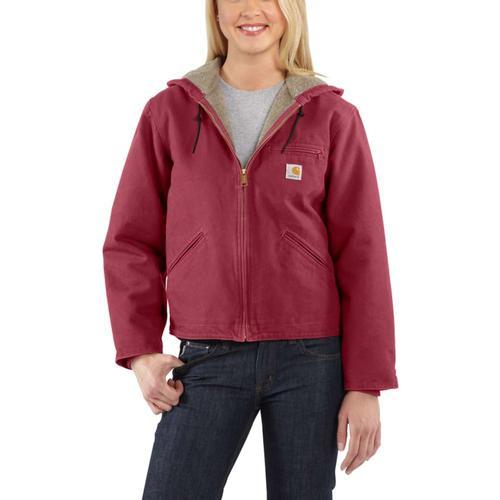 Carhartt Women's Sandstone Sierra Sherpa Lined Jacket