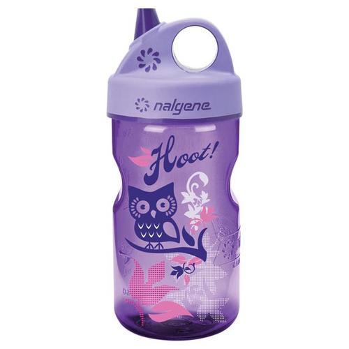Nalgene Grip N Gulp Bottle Purple Hoot