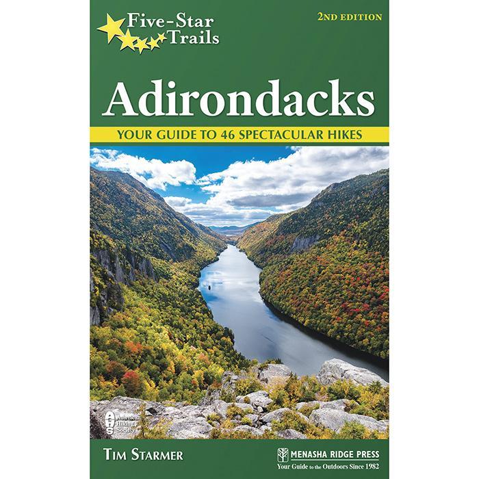 Menasha Ridge Press Five Star Trails In The Adirondacks Guide