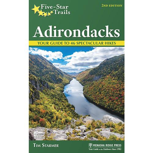 Menasha Ridge Press Five Star Trails in the Adirondacks Guide