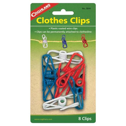 Coghlan's Clothes Clips 8-pack