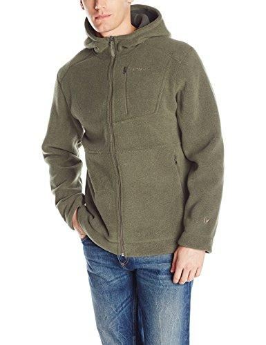White Sierra Men's Sierra Sherpa Hooded Jacket