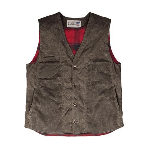 Stormy Kromer Men's Waxed Cotton Vest
