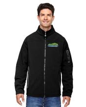 Hudson Valley Weather Embroidered Fleece Jacket BLACK