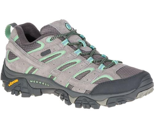 Merrell Women's Moab 2 Waterproof Hiking Shoe Drizzle