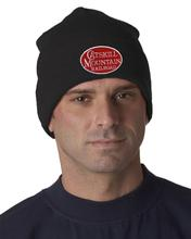 Catskill Mountain Railroad Knit Beanie BLACK