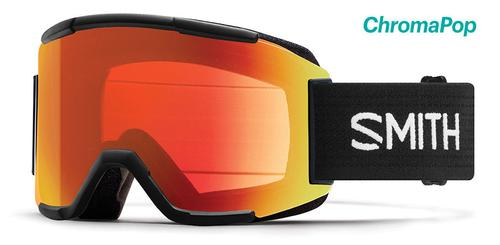 Smith Optics Squad Goggles with Chromapop Everyday Red and Yellow Lenses