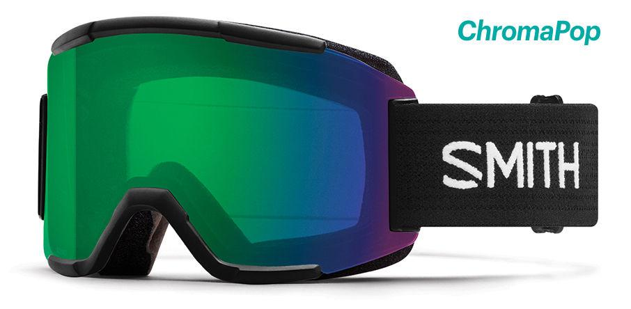 Smith Optics Squad Goggles With Chromapop Everyday Green And Yellow Lenses