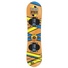 Airhead Snow Ryder Hardwood Kid's Snowboard NATURAL