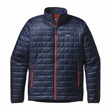 Patagonia Men's Nano Puff Jacket NV_BL_PAINTBRUSH_RED