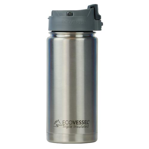Ecovessel Perk Trimax 16 oz Insulated Steel Mug