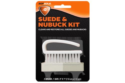 SofSole Suede and Nubuck Brush Kit