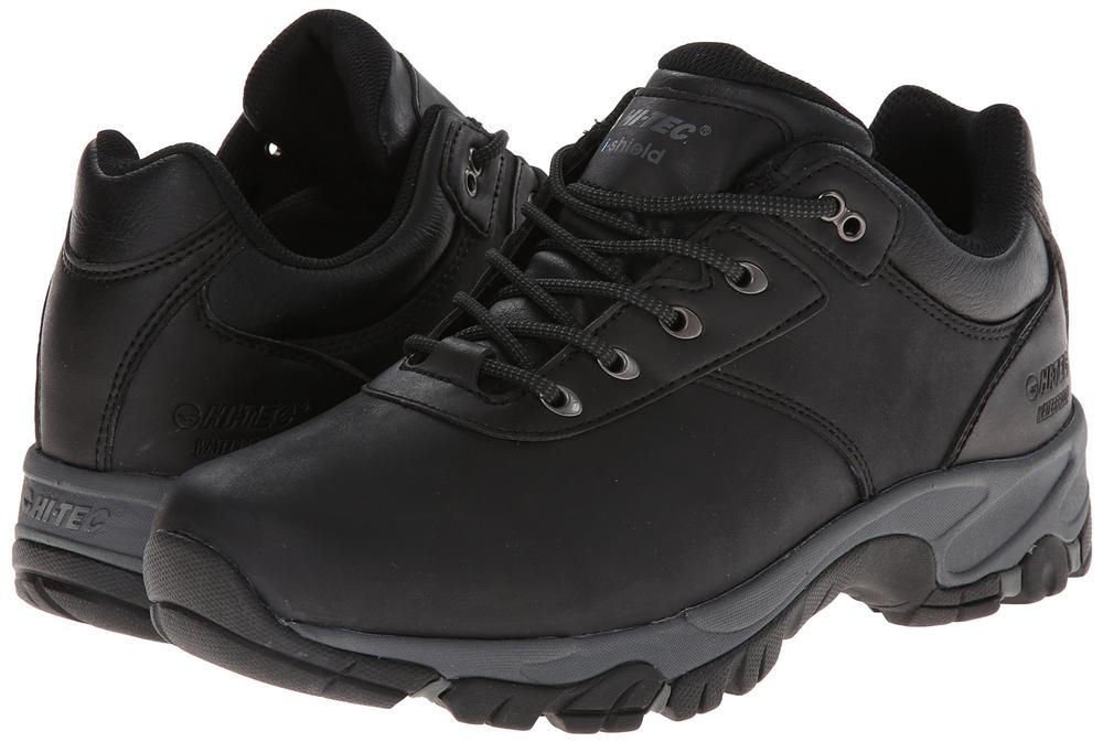 Hi Tec Men's Altitude V Low I Waterproof Hiking Shoes BLACK