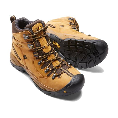 Keen Men's Pittsburgh Steel Toe Waterproof Boot