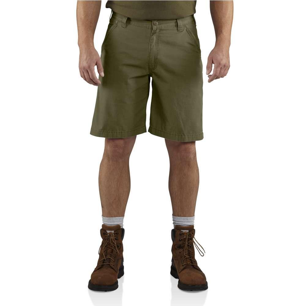 Carhartt Men's Tacoma Ripstop Short ARMY_GREEN