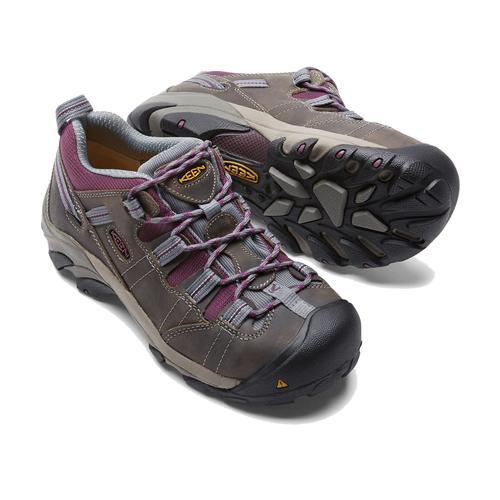 Keen Women's Detroit Low Steel Toe Work Shoe