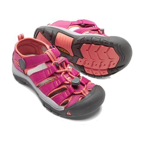 Keen Big Kid's Newport H2 in Very Berry