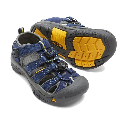 Keen Little Kids' Newport H2 in Blue Depths