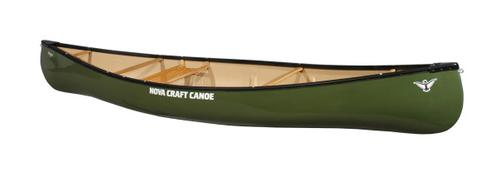 Nova Craft Canoe Trapper 12 Solo Tuff Stuff with Aluminum Gunwales