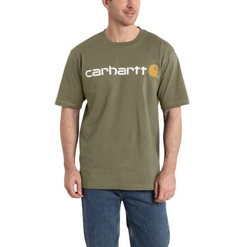 Carhartt Men's Short Sleeve Logo Shirt