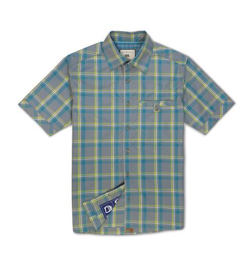 Dakota Grizzly Men's Sawyer Cotton Poly Blend Plaid Shirt