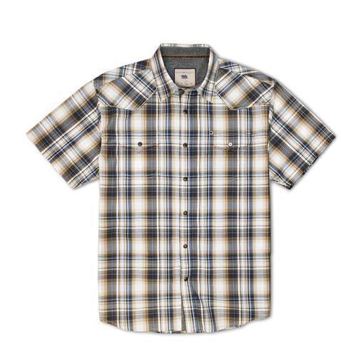 Dakota Grizzly Men's Brodi Cotton Gingham Plaid Shirt