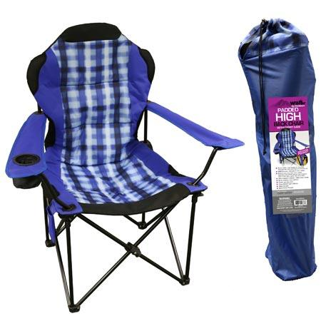 Wilcor Padded High Back Chair