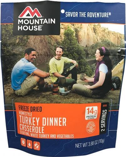 Mountain House Homestyle Turkey Dinner Casserole Pouch