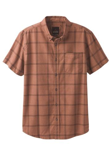 Prana Men's Broderick Window Pane Shirt