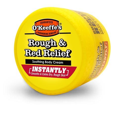 O'Keeffe's Rough and Red Relief Skin Cream 8oz Jar