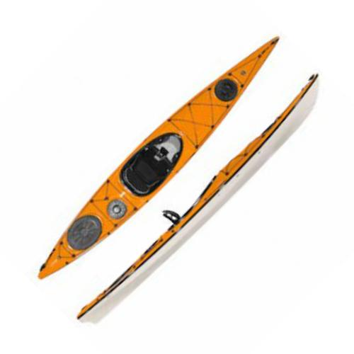 Wilderness Systems 2013 Fiberglass Tsunami 135 Pro Kayak - Closeout