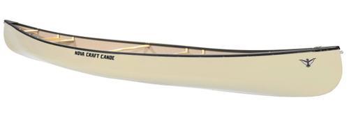 Nova Craft Canoe Trapper 12 Solo Fiberglass with Aluminum Gunwales Blem