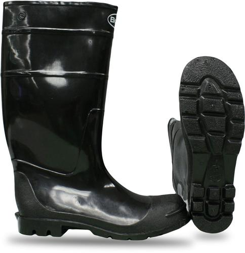 Boss PVC Over the Sock Knee Boot with Cleated Sole