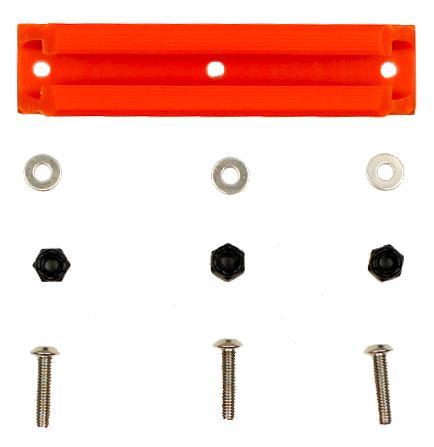 Yakattack Geartrac 4 Inch Spectralite Orange