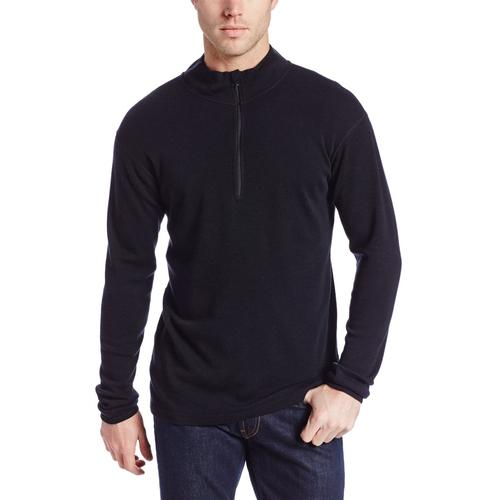 Minus33 Men's Isolation Midweight Wool Quarter Zip Pullover