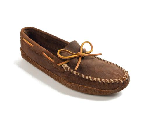 Minnetonka Men's Double Bottom Soft Sole Moccasin