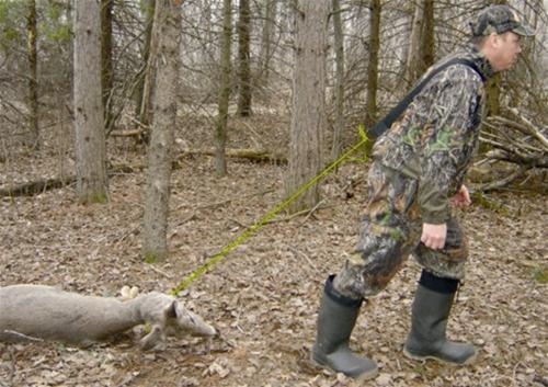 HME Economy Deer Drag Shoulder Strap