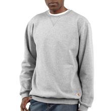 Carhartt Men's Midweight Crewneck Sweatshirt HEATHER_GRAY