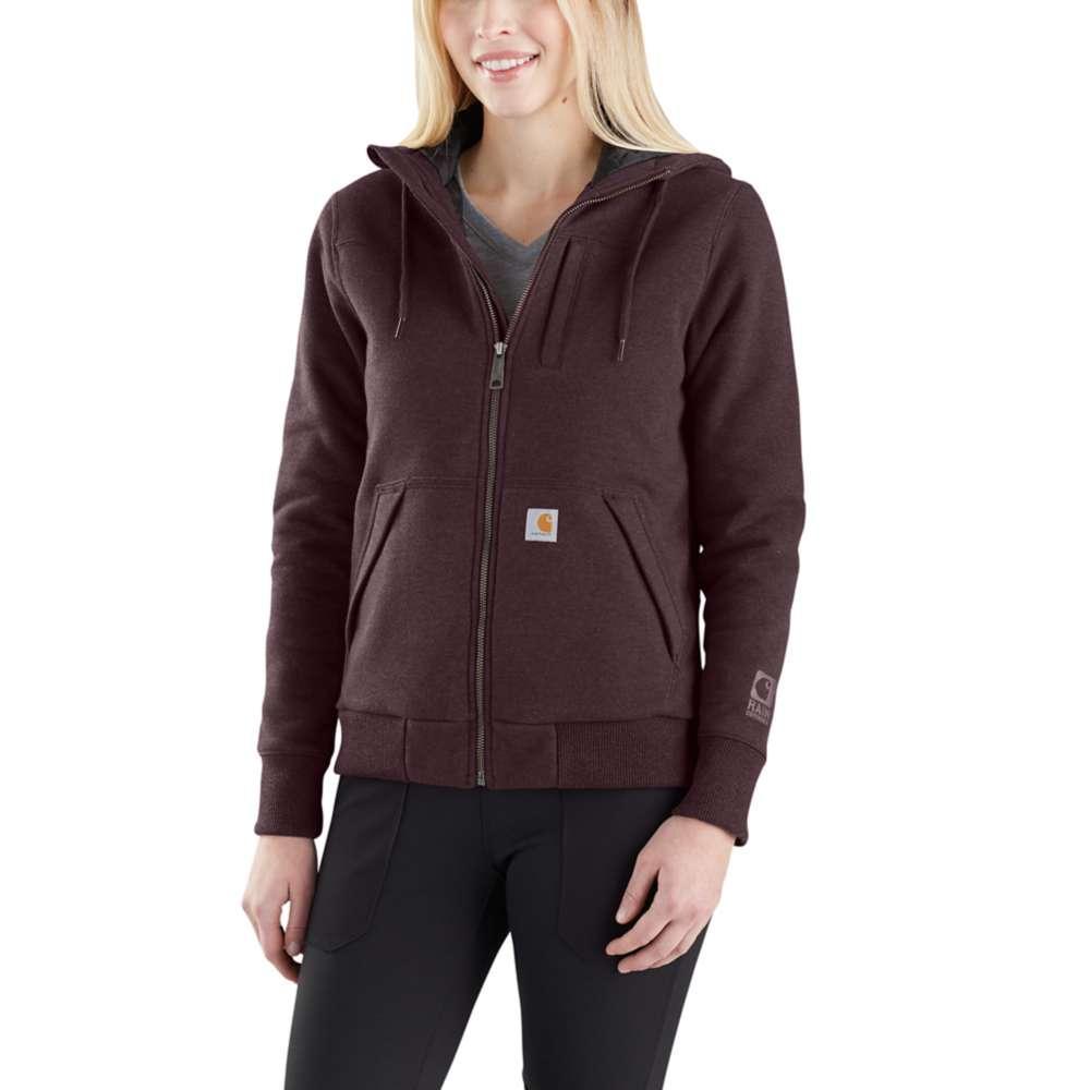 Carhartt Women's Rockland Quilt Lined Full Zip Hooded Sweatshirt