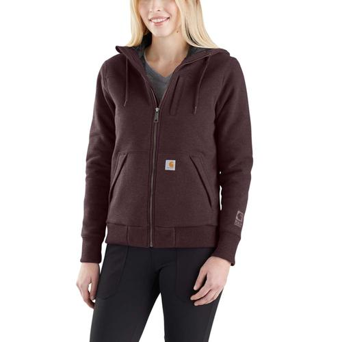 Carhartt Women's Rockland Quilt Lined Full Zip Hooded Sweatshirt