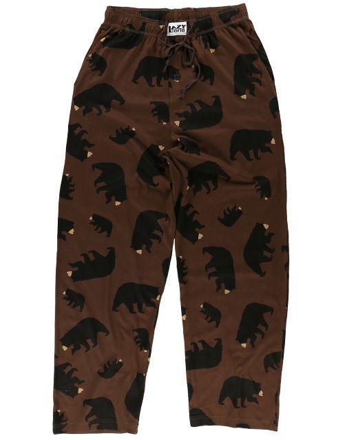 Lazy One Unisex Timberland Bear Pajama Pants
