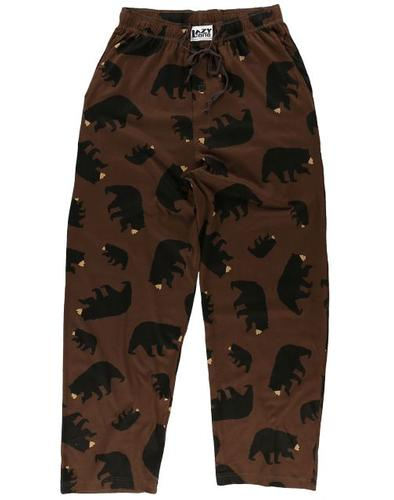 Lazy One Unisex Timberland Bear Pajama Pants
