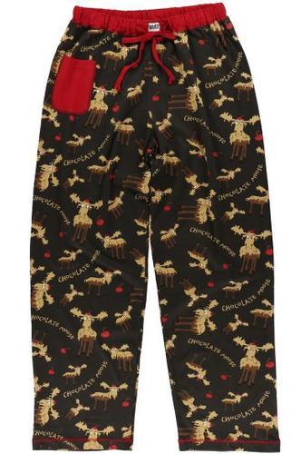 Lazy One Women's Chocolate Moose Pajama Pant