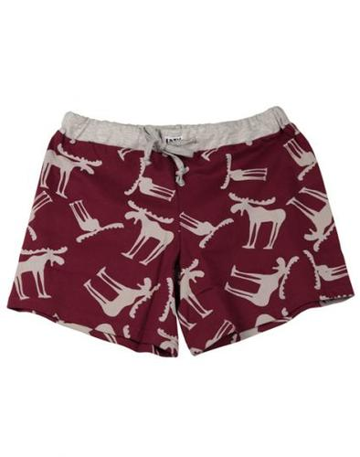 Lazy One Women's Funky Moose Boxer Short