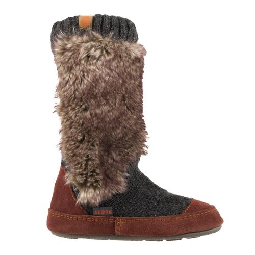 Acorn Kid's Indoor-Outdoor Slouch Boot Slipper